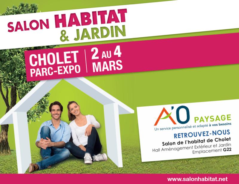 Ao paysage au salon de l 39 habitat et du jardin ao paysage for Entretien jardin cholet